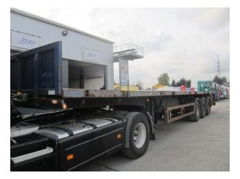 Trax S343V - plataforma semirremolque