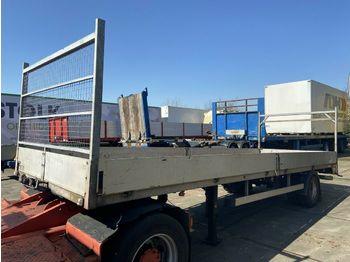 Semirremolque caja abierta Doornwaard - BE Oplegger L694 B214