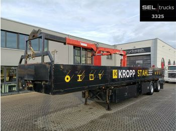 Schmidt Cordes C SAKL 300 / Lenkachse / Ausschub  - semirremolque caja abierta
