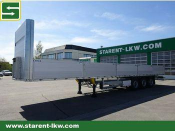 Schmitz Cargobull Baustofftrailer,Liftachse, Rungen, 80cm Bordwand  - semirremolque caja abierta