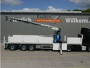 Semirremolque caja abierta Wilken Roll - Kranauflieger Kennis 16-R/84-4 NEU