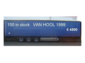Van Hool 3-AS SCHUIFZEILEN - toldo semirremolque