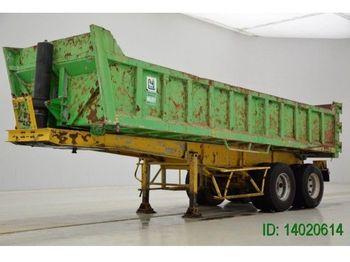 Trax 17 cub in Steel  - volquete semirremolque