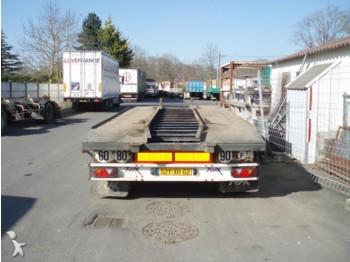 Trax 2 essieux jumelés - volquete semirremolque