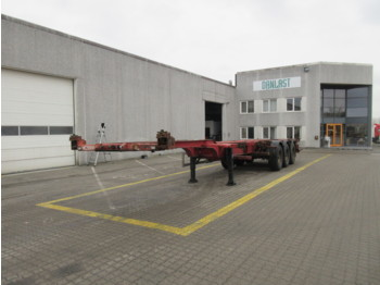 HFR high cube - chassis semitrailer