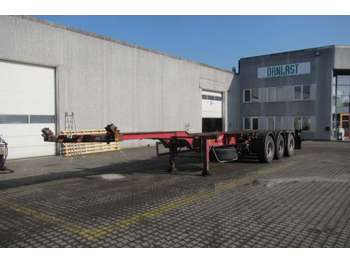HFR high cube multi - chassis semitrailer
