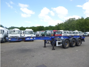 Dennison 3-axle container trailer 20-30-40-45 ft - container-transport/ vekselflak semitrailer