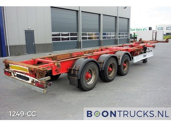 Container-transport/ vekselflak semitrailer Fliegl SDS400C | 20-30-40-45ft HC CONTAINERCHASSIS