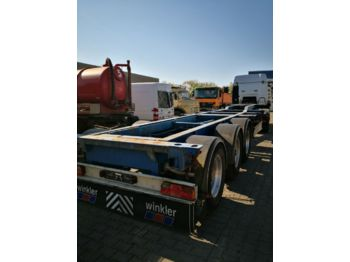 Container-transport/ vekselflak semitrailer Fliegl SDS 400 20/30/40/45ft Container