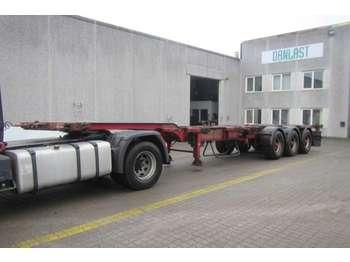HFR high cube multi - container-transport/ vekselflak semitrailer