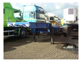 Pacton 3139 C-2 - container-transport/ vekselflak semitrailer