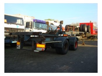Pacton 40 ft container chassis - container-transport/ vekselflak semitrailer