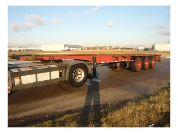 Pacton Container chassis 3axle 40ft - container-transport/ vekselflak semitrailer