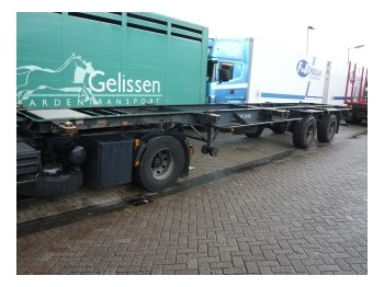 Pacton container chassis - container-transport/ vekselflak semitrailer