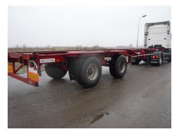 Pacton container chassis 2 axle 40ft - container-transport/ vekselflak semitrailer
