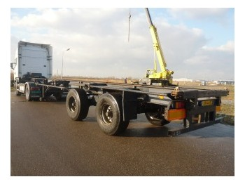 Pacton containerchassis 2 axle 40ft - container-transport/ vekselflak semitrailer