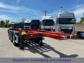 Schmitz Cargobull * SGF S3 * 3.ACHS * LIFTACHSE * ALCOA *  ADR *  - containerbil/ växelflak semitrailer