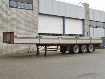 PACTON 3139 D-13 - flatbed semitrailer