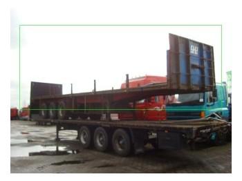 Pacton open - flatbed semitrailer