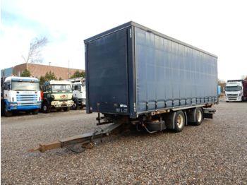DIV. HFR 18 T. BDF Anhänger - forteltet semitrailer