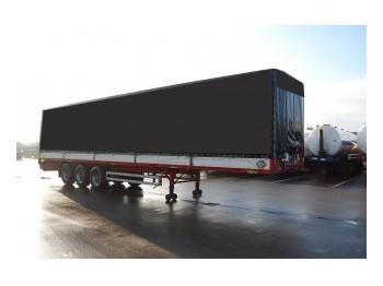 Pacton Tilt trailer - forteltet semitrailer