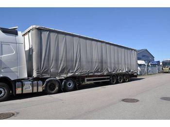 Kapell semitrailer FRUEHAUF MEGA SPEED 3-AX