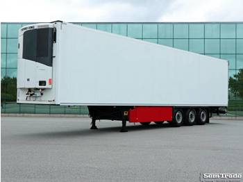 Schmitz Cargobull SCB*S3B BI TEMP THERMO KING LIFT AXLE 270 HIGH SUPER CONDITION - kyl/ frys semitrailer