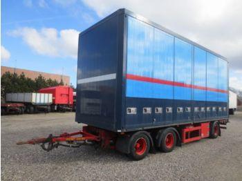 DIV. HFR PK24 Koffer - lukket påbygg semitrailer