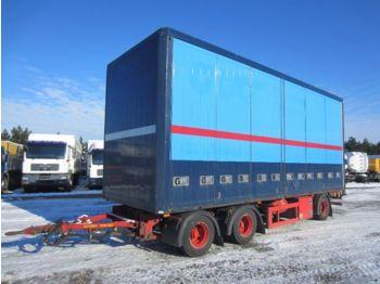 DIV. HFR PK24 Sideopening Aluminium - lukket påbygg semitrailer