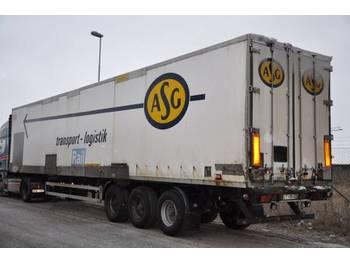 NOKAB HFR  - lukket påbygg semitrailer