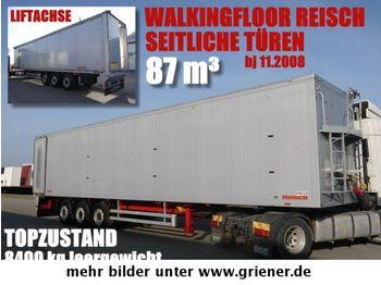 RBSB 35/24 PV / SEITLICHE TÜREN / REISCH 8400 kg  - lukket påbygg semitrailer