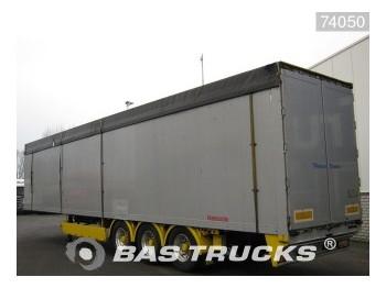 Reisch 89m³ Liftachse RSBS-35/24 LK - lukket påbygg semitrailer