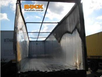 Reisch Auflieger Schubboden - lukket påbygg semitrailer