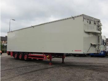 Reisch RSBS-35/24LK Schubboden 90m3 - lukket påbygg semitrailer