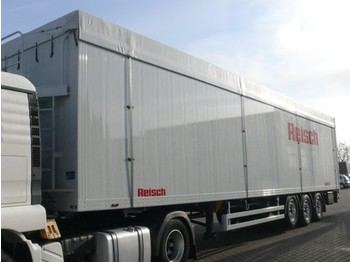 Reisch RSBS Schubboden 92 cbm - lukket påbygg semitrailer