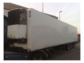 Pacton 3 AXLE FRIGO TRAILER - skap/ distribusjon semitrailer