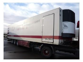 Pacton Coolingtrailer 3 axle - skap/ distribusjon semitrailer