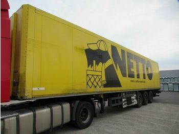 Skap/ distribusjon semitrailer Schmitz Cargobull SKO 24 Unterflurkühler, Unfall