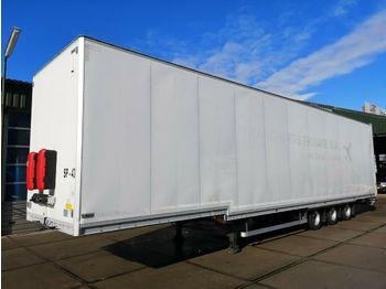 Skåp semitrailer Talson F1227 Mega | Aircargo | Hydraroll - Rollenbanen: bild 1