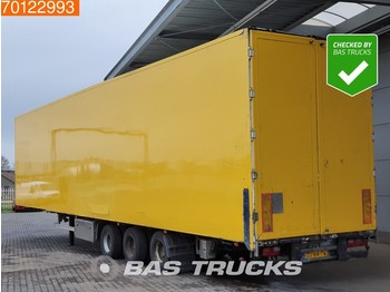 Skåp semitrailer Van Eck Mega Aircargo-Luftfracht-Rollenbett Liftachse
