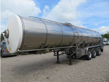DIV. VI-TO 32.000 l. Stainless Steel Food Transportation - tank semitrailer