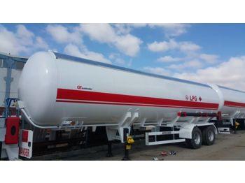 Tank semitrailer GURLESENYIL 2 axles lpg semi trailer: bilde 1