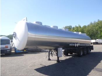 Magyar Chemical tank inox 32.5 m3 / 1 comp - tank semitrailer
