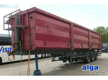 Carnehl CHKS/H, Unfall, Stahl über 70m³, Schrottmulde  - tipp semitrailer