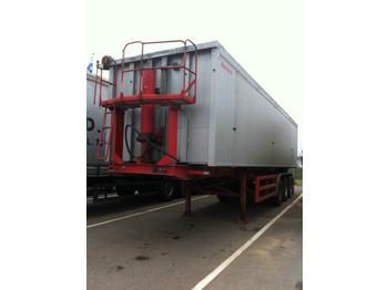 REISCH RHKS-35/24 AL 55m³/KIPPER /LIFT /ABS /TOP - tipp semitrailer
