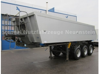 Reisch 3-Achs Alu-Kuppmulde 24m³ RHKS-35/24AL - tipp semitrailer