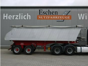 Tippbil semitrailer Meiller MHKS 41/2, 23 m³ Alumulde, Luft, BPW