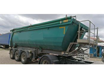 Tippbil semitrailer Meiller MHKS 41/3-S Hardox 28m3