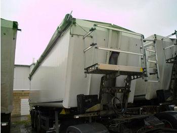 Schmitz Cargobull 44m3 + Plane + Alu+ 1.Hand + 6000 KG leergewich  - tippbil semitrailer