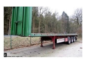 WELLMEYER WELLMEYER SPA35 12m LANGHOLZSATTELAUFLIEGER - semitrailer